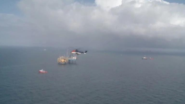 April 18, 2012 – Elgin platform, vessels and rigs mobilized for the well intervention operations