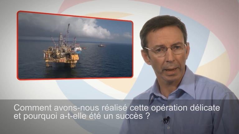 Interview de Mike Ryan, responsable de la Task force dédiée, Total E&P UK.